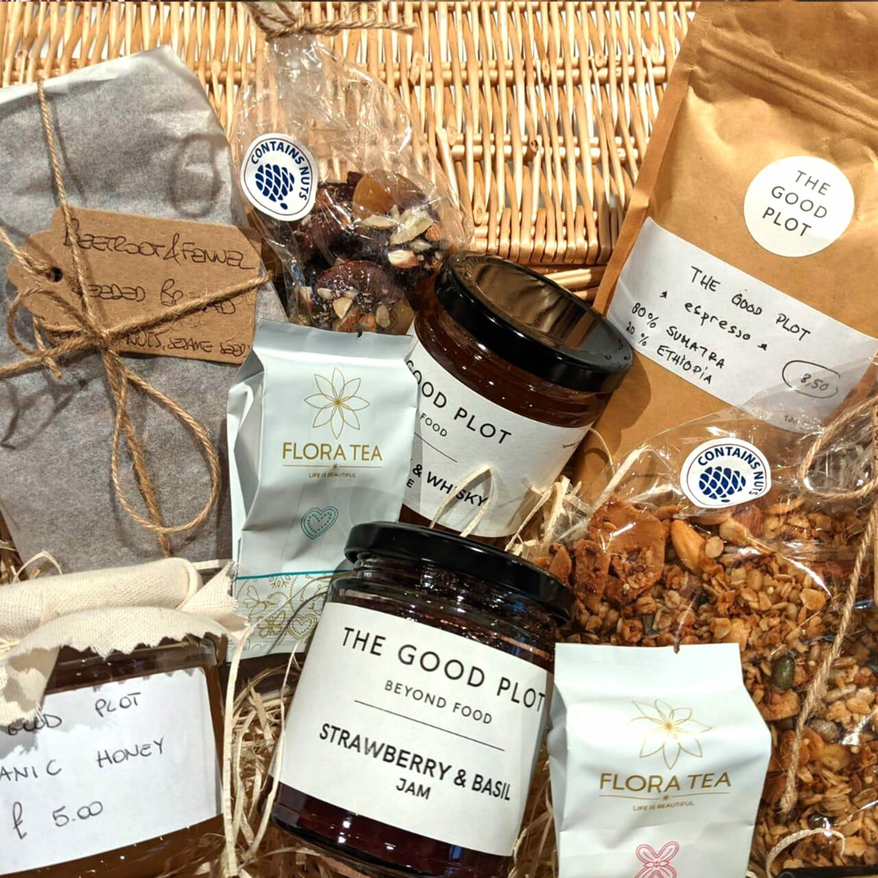 Luxury Mother's Day hamper at The Good Plot